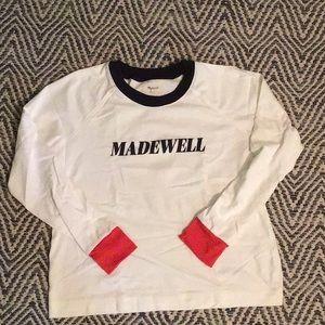 Madewell Colorblock Long sleeve